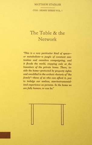 The Table & the Network