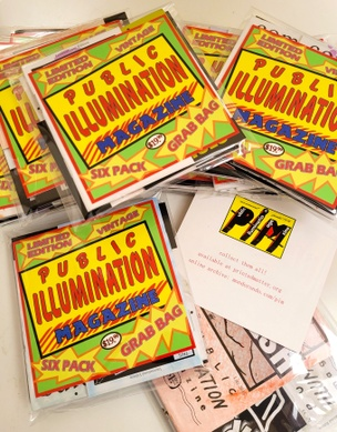 Public Illumination: six pack grab bag