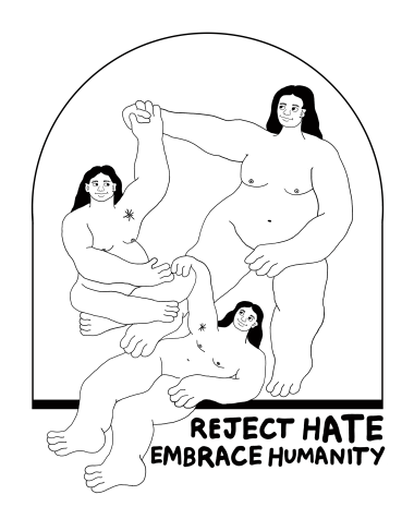 REJECT HATE / EMBRACE HUMANITY