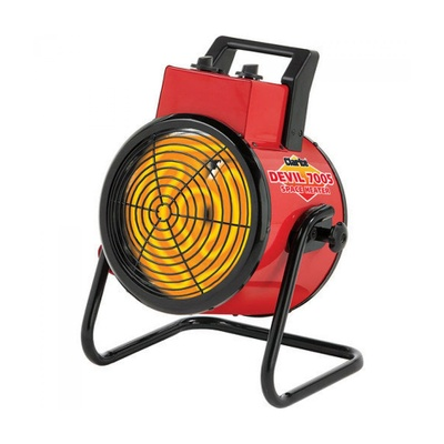 Devil Fan Heater 3kW (16 AMP)