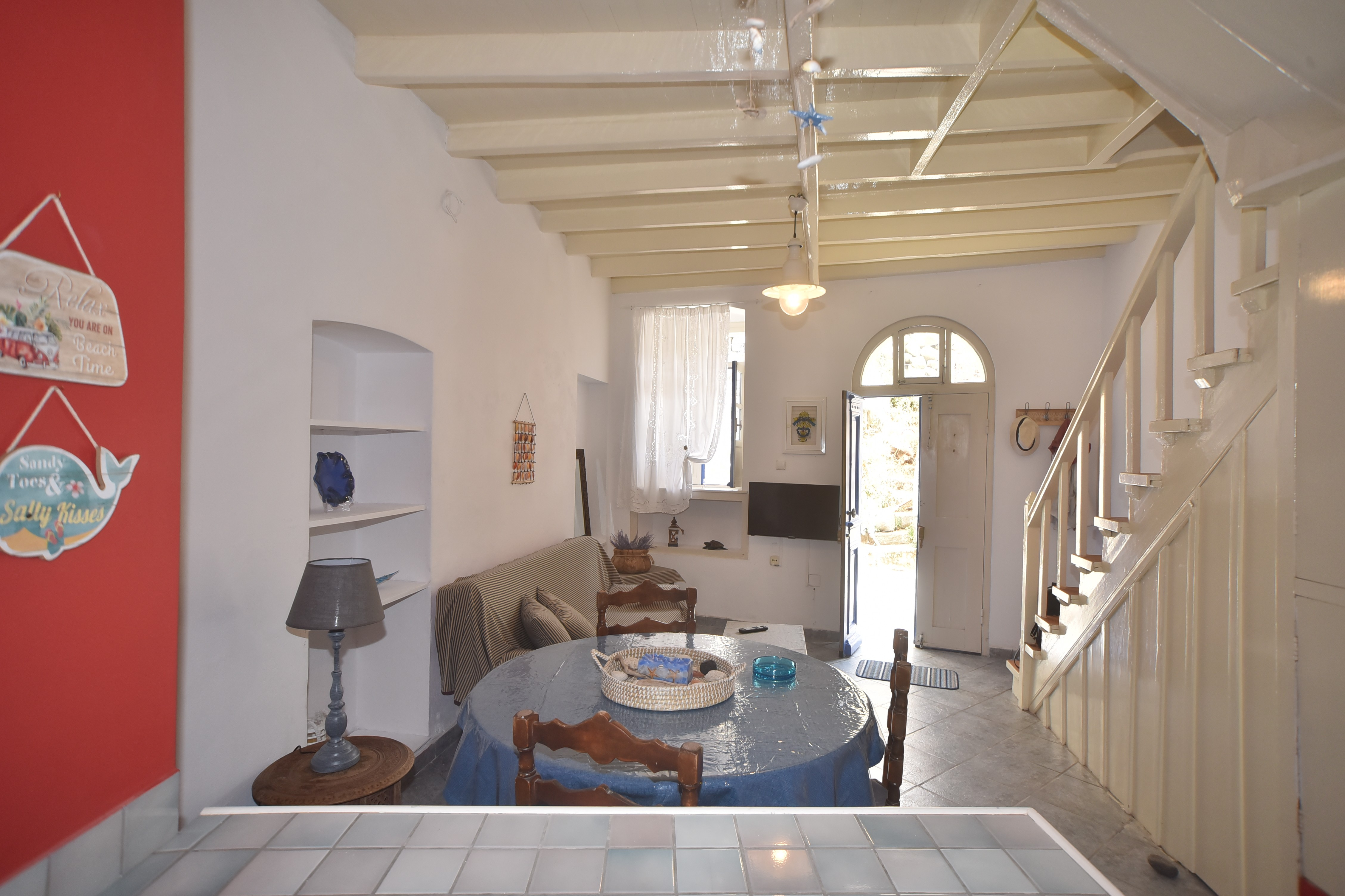 Traditional sea view house in Nisyros