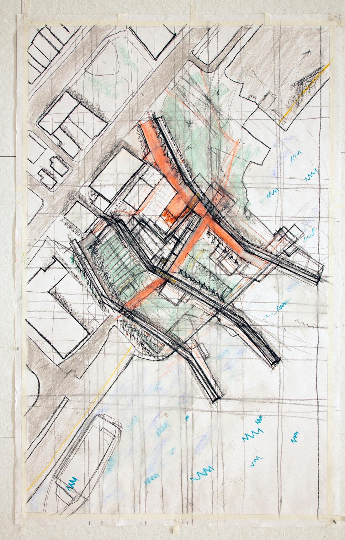 Plan drawing by Daniel Glick-Unterman.