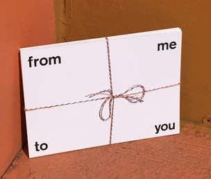 From Me To You Postcard Set