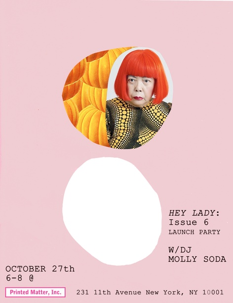 Hey Lady Issue 6 Launch