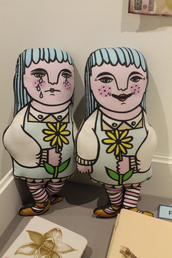 Happy Sad Lady Doll