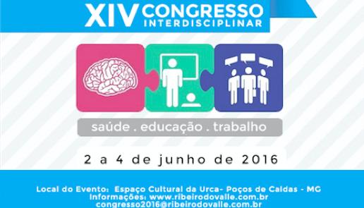 XIV Congresso Interdisciplinar: saúde, educação e trabalho
