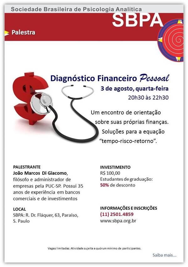 Diagnóstico Financeiro Pessoal