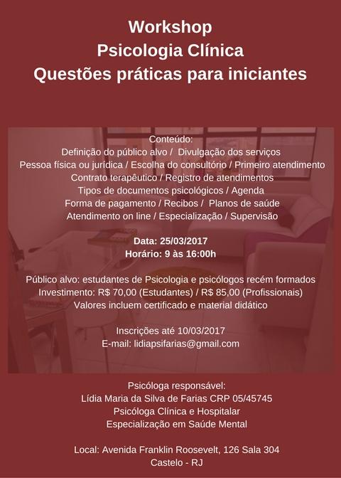 Psicologia Clínica - Questões práticas para iniciantes