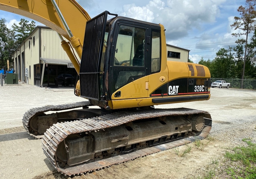 Used 2004 Caterpillar 320C w/ Shear For Sale
