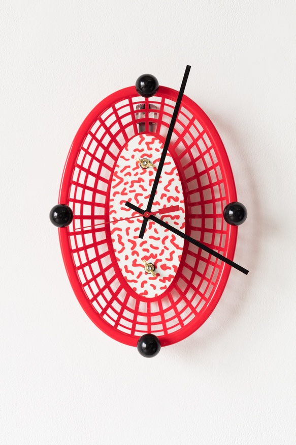 HOT DOGG CLOCK, 2017 (Red)