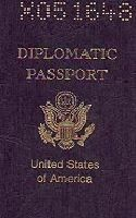 Diplomatic Passport : X051646