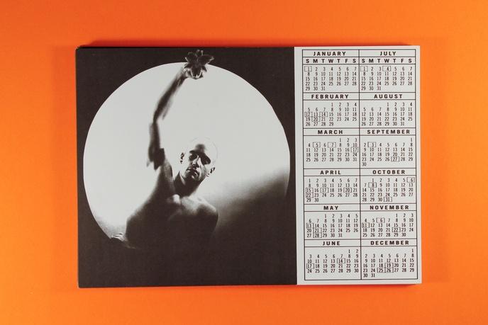 1984 calendar card