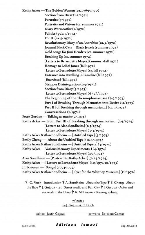 Kathy Acker (1971-1975) thumbnail 8