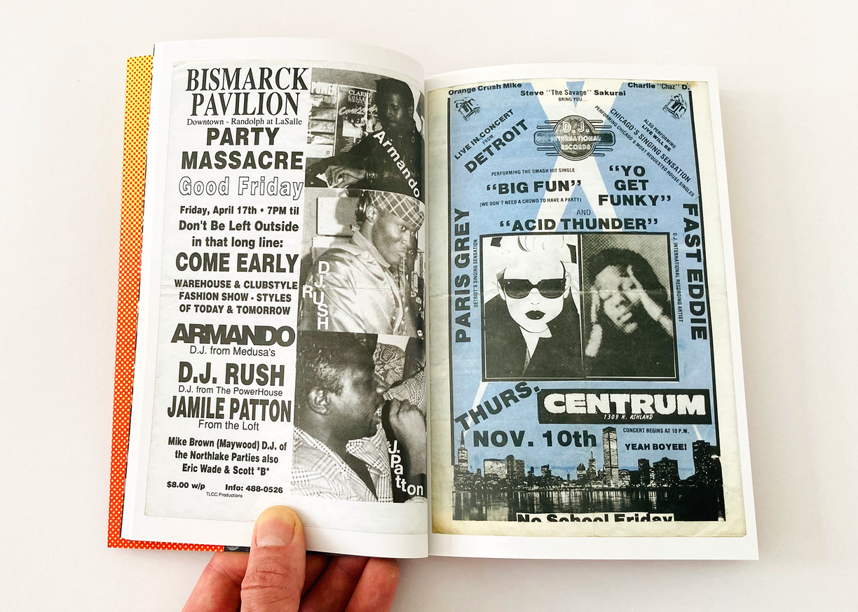 Beyond Heaven: Chicago House Party Flyers, Volume II, From 1981-1992 thumbnail 4