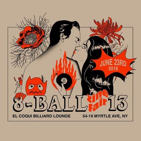 8 BALL ZINE FAIR N°13