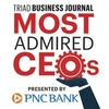 Most Admired CEOs in the Triad