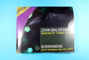 John Baldessari : September 22-October 13, 1990