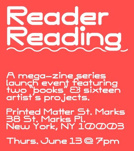 Reader Reading: TXTReader Book Launch