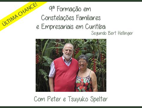ÚLTIMA CHANCE - 9ª Formação Internacional em Constelações Familiares e Empresariais segundo Bert Hellinger