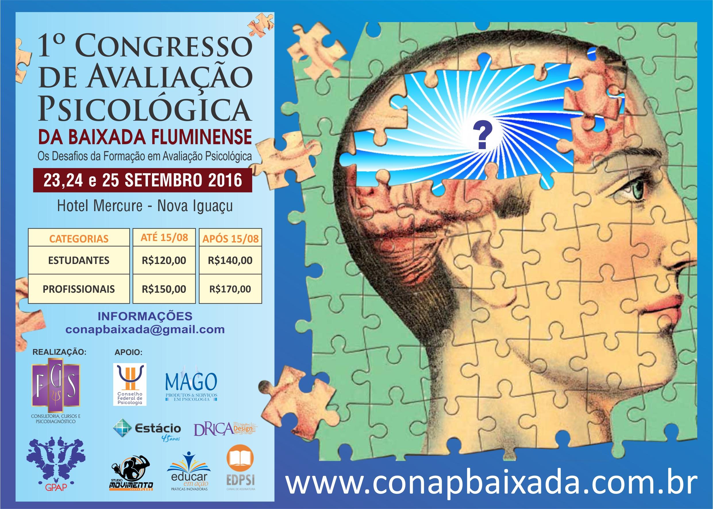 1º Congresso de Avaliação Psicológica da Baixada Fluminense