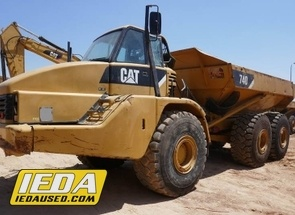Used 2007 Caterpillar 740 For Sale