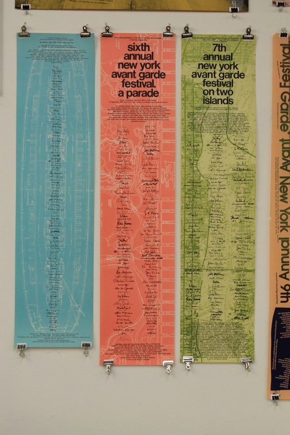 New York Avant-Garde Festival Posters: 1963-1980 thumbnail 6