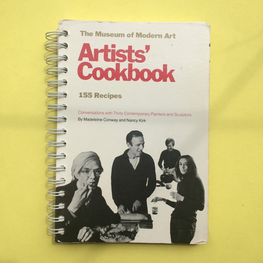 The Museum of Modern Art Artists' Cookbook