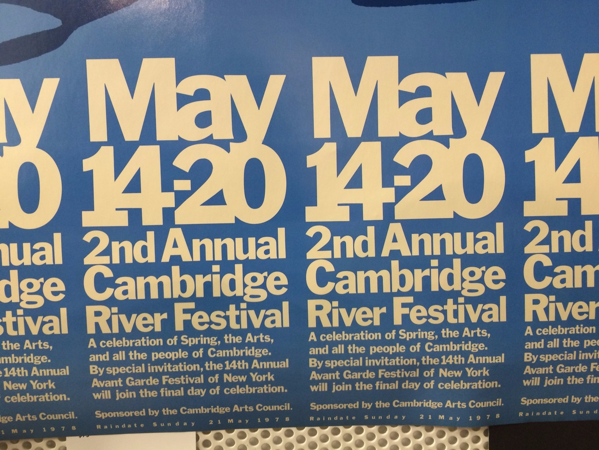 Second Annual Cambridge River Festival May 14-20, 1978 thumbnail 2