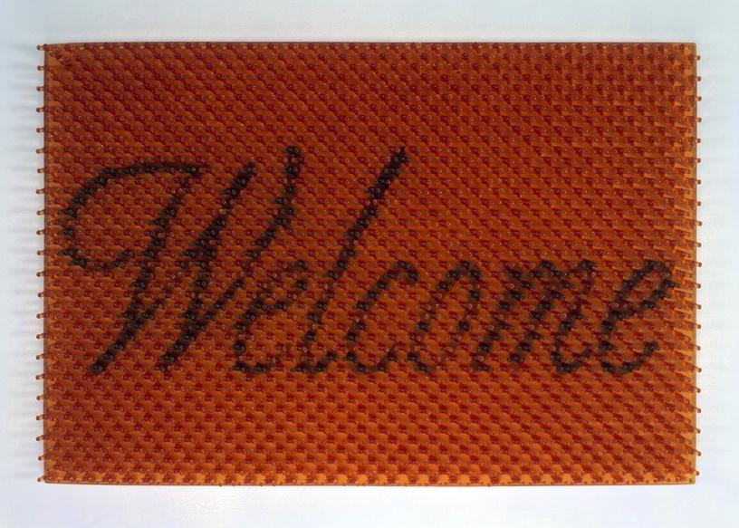 Suh Do-Ho_Doormat Welcome amber_R2001.3_1.jpg