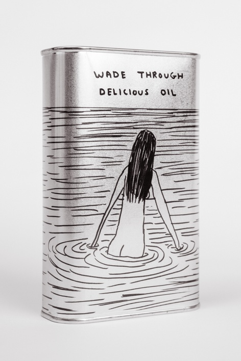 Wade Through Delicious Oil with David Shrigley and Agricola Due Leoni