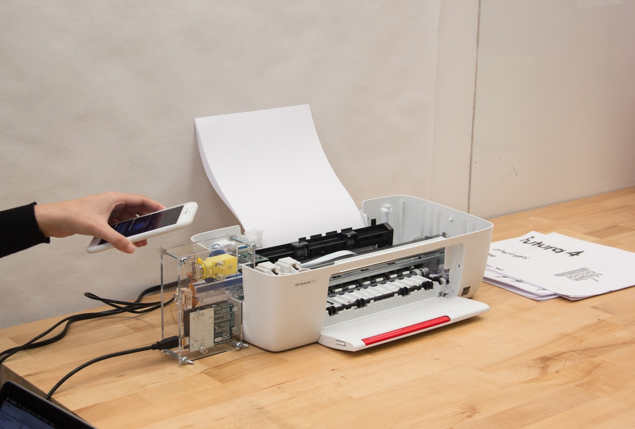 Printer Prosthetic: Futura thumbnail 2