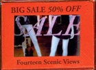Big Sale 50% Off: Four Scenic Views