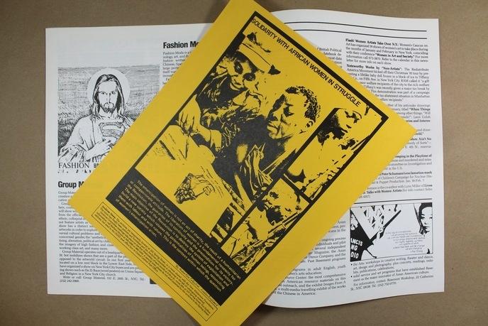 Upfront : A Political Art Documentation / Distribution thumbnail 2