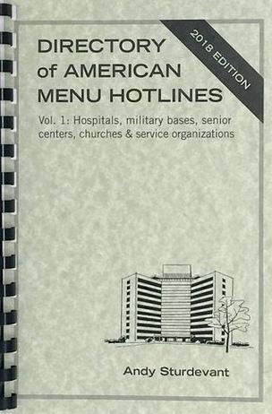 Directory of American Menu Hotlines
