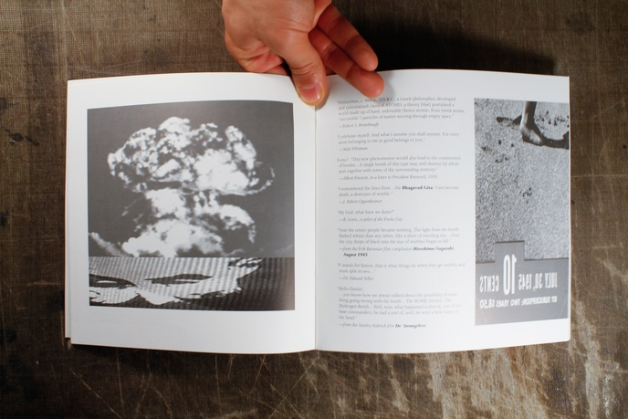 Traces : A Multimedia Installation of the Atomic Age thumbnail 7