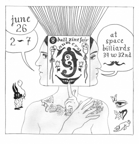 8 BALL ZINE FAIR N°9