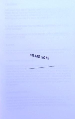 Films 2015