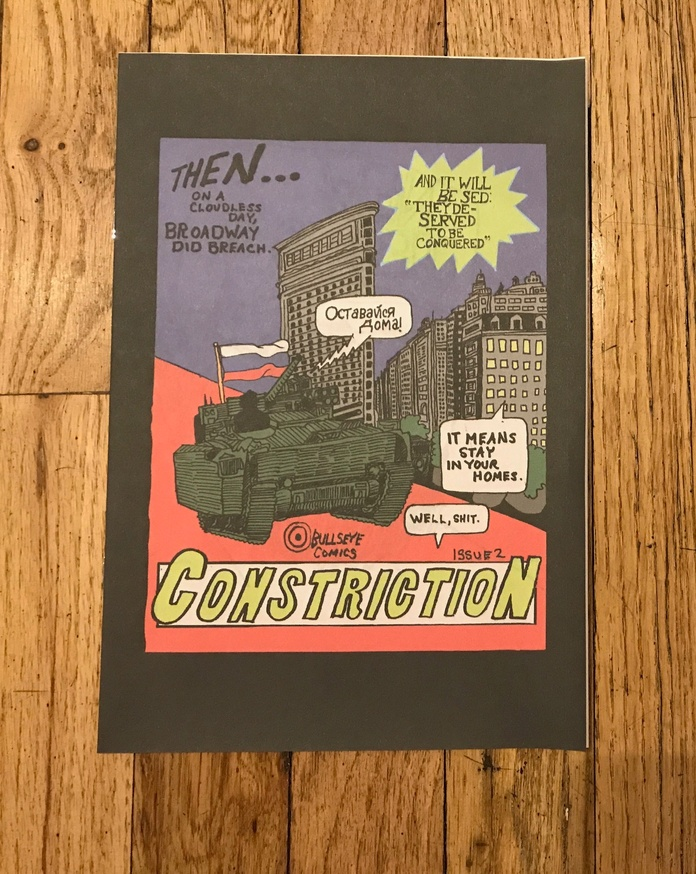 Bullseye Comics #2: Constriction thumbnail 1