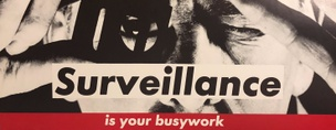 Surveillance Is Your Busywork Placard