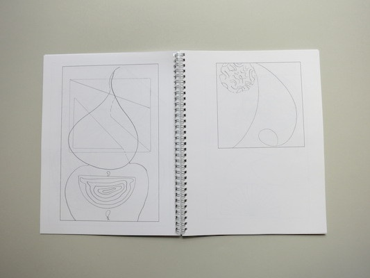 Drawing Hilma Af Klint : A  Coloring Book Influenced by the Work of Hilma Af Klint thumbnail 3