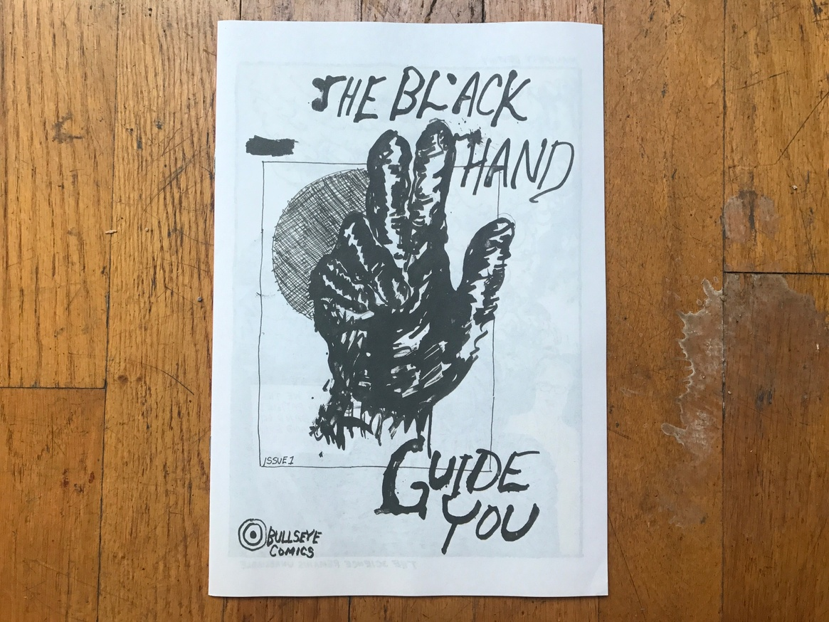Bullseye Comics #1: The Black Hand Guide You