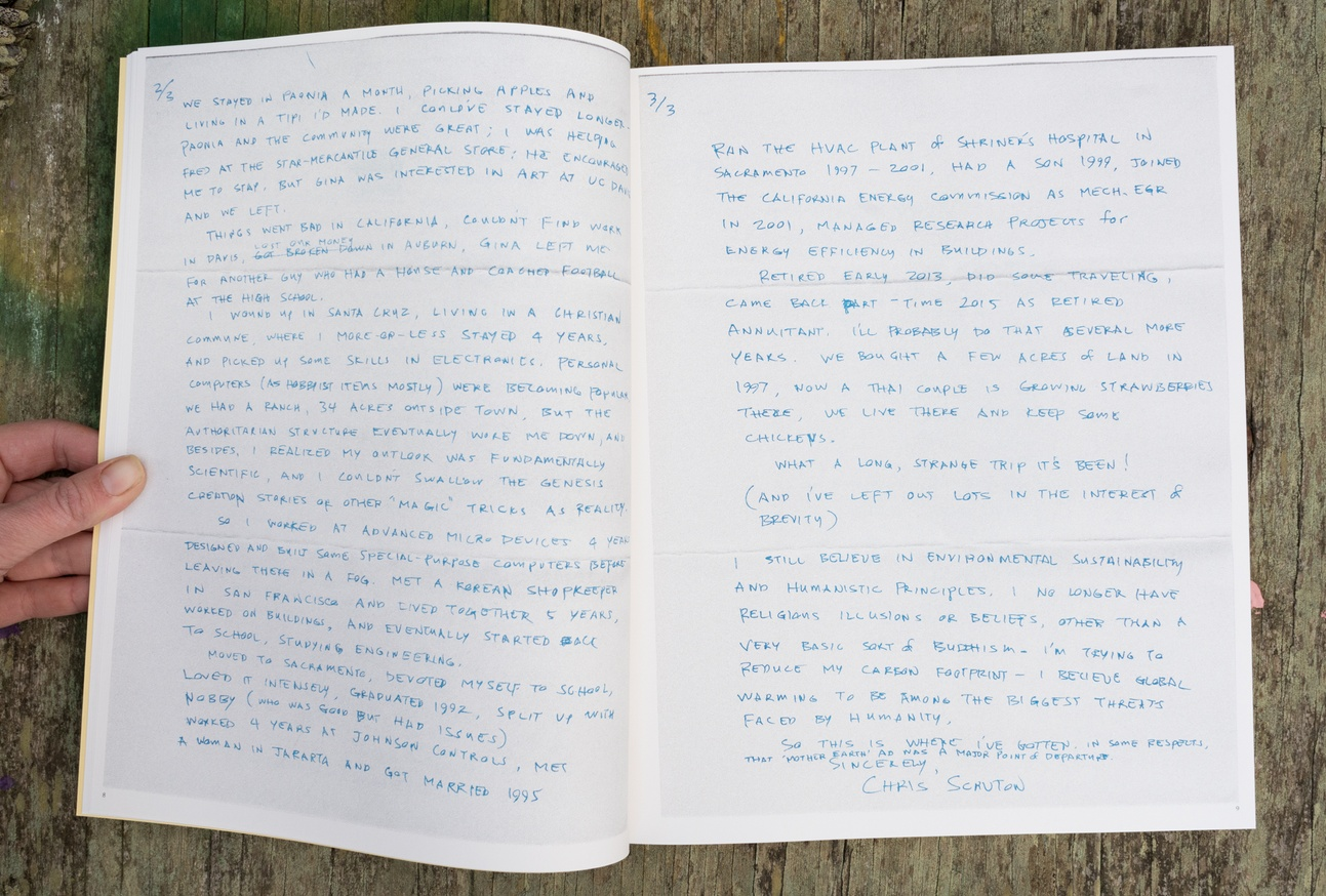 The Positions and Situations Project: Back-to-the-land Letters, Volume 2: 1974-1975 thumbnail 2