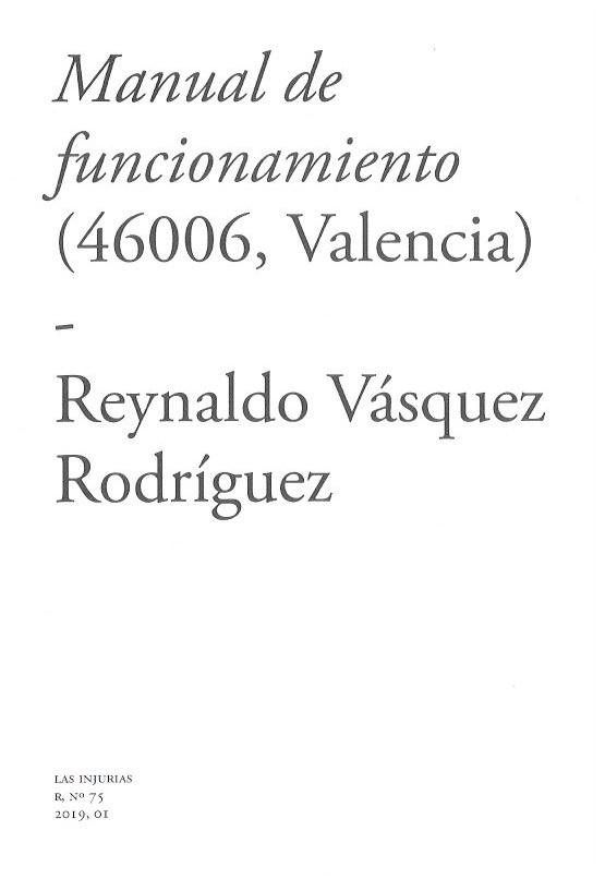 Manual de funcionamiento (46006, Valencia)