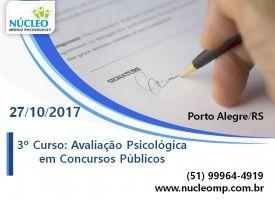 Avaliação Psicológica em Concursos Públicos 27/10