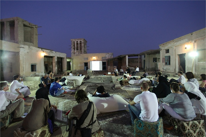 Studio-X Amman event organizat for the Sharjah Biennial, UAE