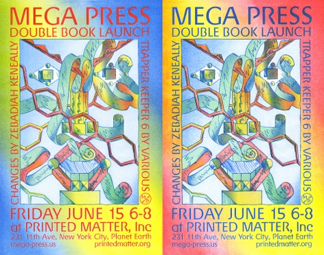Trapper Keeper 6 & Changes  — Book Launch with Mega Press