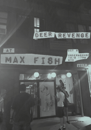 Deer Revenge at Max Fish