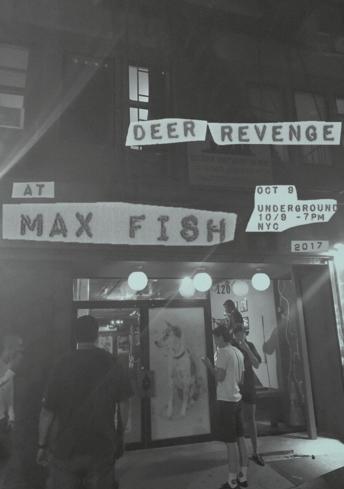 Deer Revenge at Max Fish