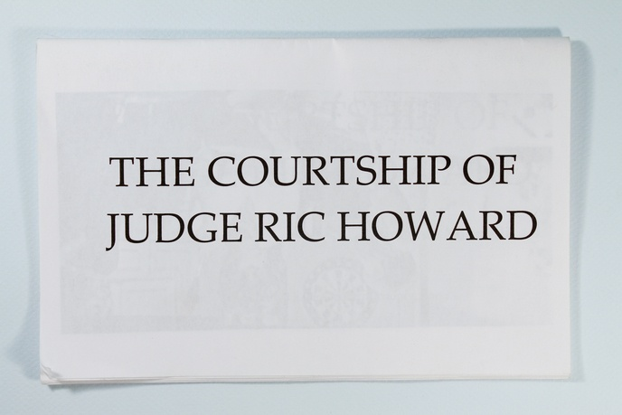 The Courtship of Judge Ric Howard by Vincente Minnelli : Autopsy of a Criminal Justice in Citrus County, Florida thumbnail 3