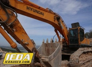 Used 2015 Hyundai Robex 520 LC - 9R For Sale